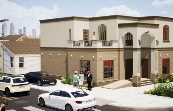 Villa House Designs 35'x44′ with 5 Bedrooms