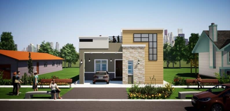 Home Design Plan 30×53 feet with 3 Bedrooms Full Plan