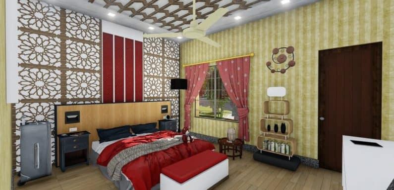 12×15 feet Master Bedroom Interior Design Dwnload Free Sketchup Model 2020