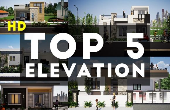 Top 5 3D Elevation By KK Home Design 2020