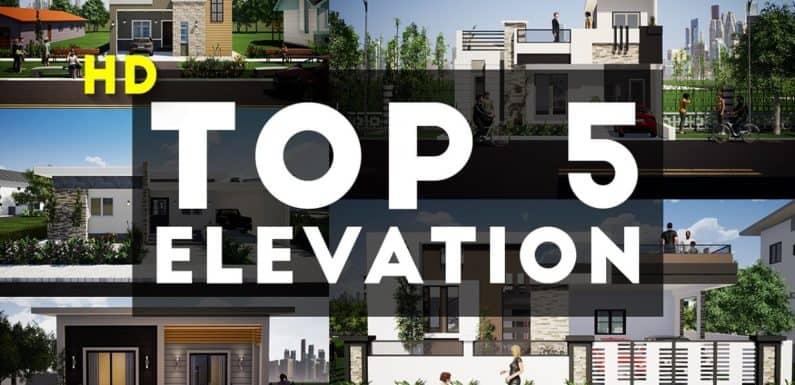 Top 5 3D Elevation By KK Home Design 2020