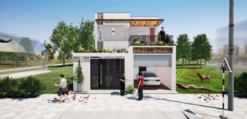 27'x60′ Feet House Design with 4 Bedrooms Full Plan