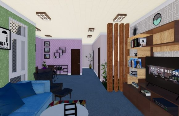 Living And Dining Hall Morden Interior Design Download Free Sketchup Model 2020