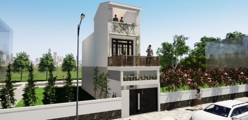 11'x50′ Feet Small House Design with 2 Bedrooms Full Plan