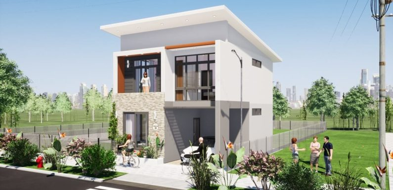 24'x30′ Feet Small House Design with 3 Bedrooms Full Plan