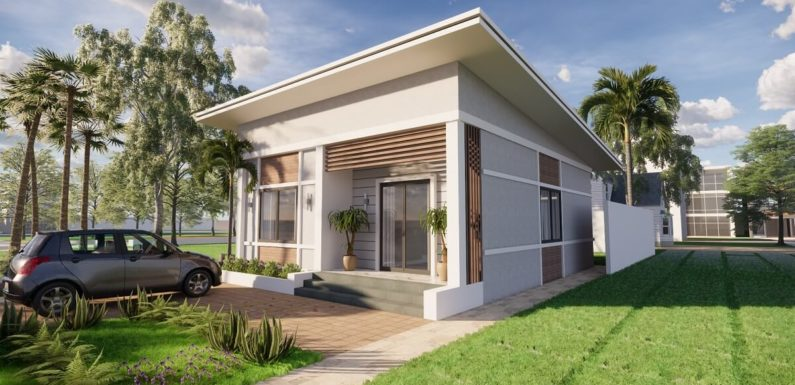 25×32 Feet Small House Design With Two Bedroom Full Plan