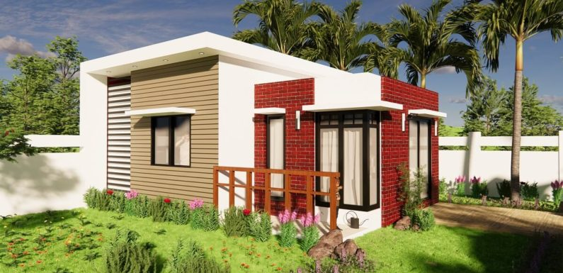25×18 Feet Small House Design 1BHK Home Design With Interior Walkthrough