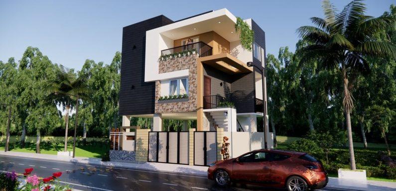 Small Morden House Design With Car Parking 3 Bedroom Size 30x30 Feet Complete Details Kk Home Design