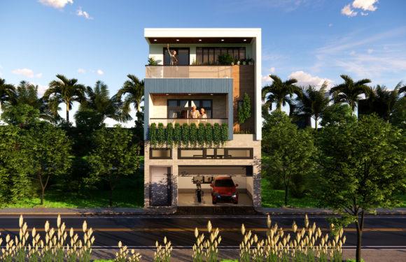 20×55 Feet House Design With Car Parking Full Walkthrough 2021