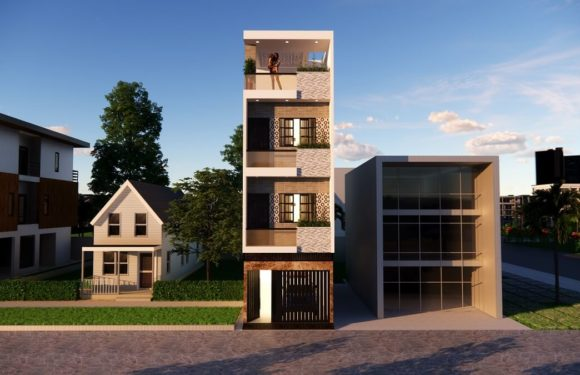 Small Space House Design 12×36 Feet With Parking Complete Details 2021