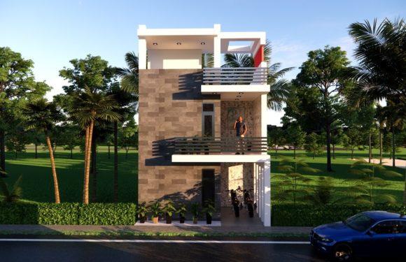 20×40 Feet 2BHK House Plan With Parking || Low Budget House Design Full Walkthrough 2021