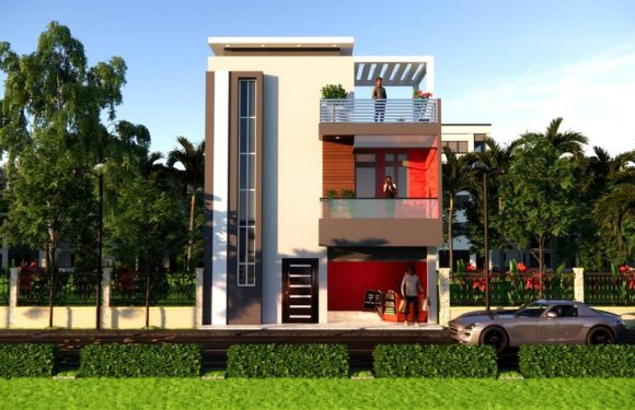 25×35 Feet Low Budget House Design With Shop Front Elevation 3BHK House Plan Full Walkthrough 2021
