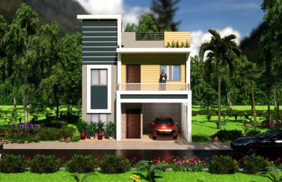 25X35 Duplex House Design With Interior 2BHK House 900 sqf With Car Parking Full Walkthrough 2021