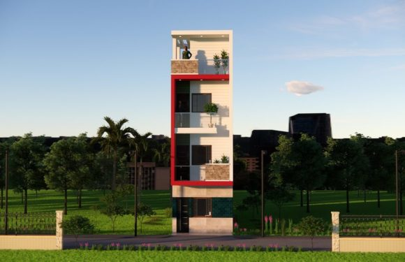 12×40 Feet Small House Design With Front Elevation Full Walkthrough 2021