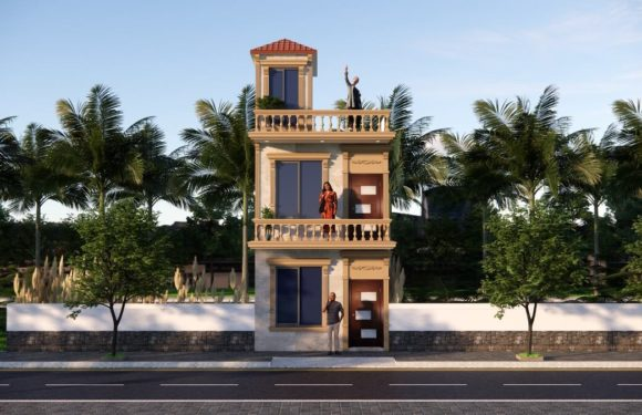 13×40 Feet Small House Design With Front Elevation Full Walkthrough 2021