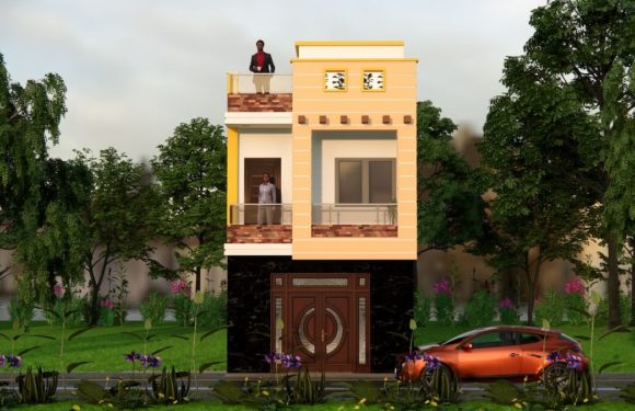 15×30 Feet Modern Small House Design With Front Elevation Full Walkthrough 2021