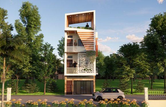 15×40 Feet Modern House Design Roof Top Garden House Plan Full Walkthrough 2021