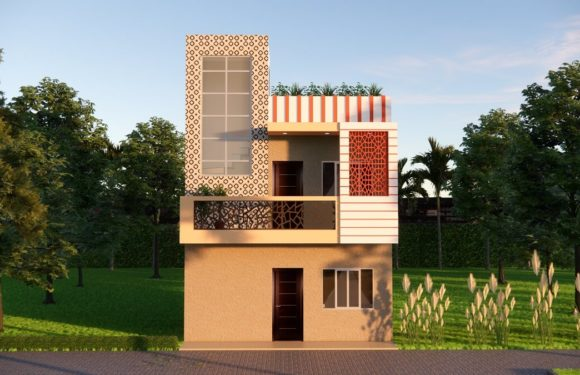 20×22 Feet Small House Design With Front Elevation Full Walkthrough 2021