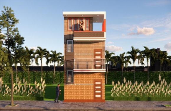 14×30 Feet Small Space House Design With Front Elevation Full Walkthrough 2021