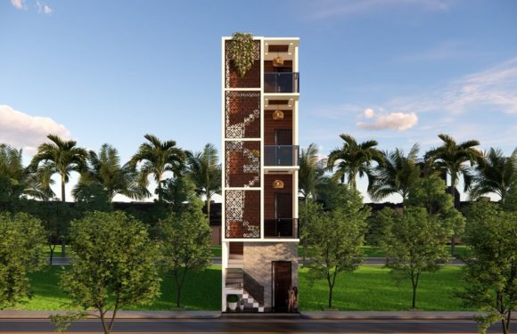 11×36 Feet Small Space House Design For Rent Purpose With Front Elevation Full Walkthrough 2021