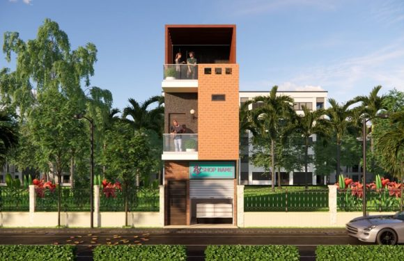4 Bedroom House Plan 11×30 Feet || Small Space House Design Walkthrough 2021
