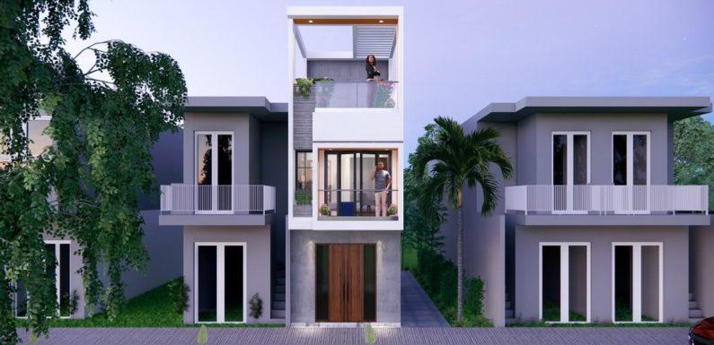 11×37 Feet 4 Bedroom House Design    11*37 Small House Walkthrough 2021